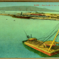 Suey - The Port, Tewfik : a view on The Canal