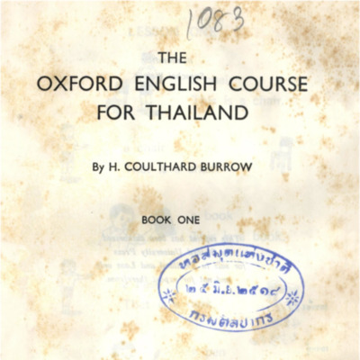 The Oxford English course for Thailand book one